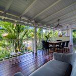 Le salon de l'appartement Lodge Coco Deshaies Guadeloupe