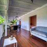 Salon de l'appartement Lodge Coco Deshaies (Guadeloupe)