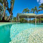 Piscine de l'appartement Lodge Coco Deshaies, Guadeloupe