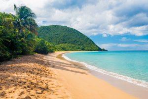 Village de Deshaies Guadeloupe - Plage de Grande Anse