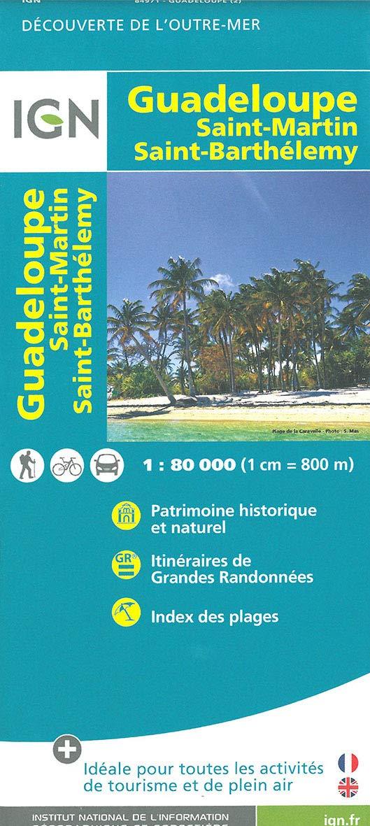Carte IGN Guadeloupe